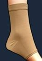 Picture of Therapeutic Ankle Support Brace (Beige - Small to X-Large) aka Ankle Sleeve, Edema Sleeve, Ankle Brace
