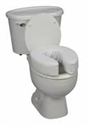"Picture of Toilet Seat Cushion Vinyl 2"" (Ivory) Comfort Seat Cushion, Toilet Riser, Padded Toilet Cushion"