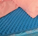 "Picture of Bed Pad Convoluted Hospital Bed Size 33""x72""x4"" aka Eggcrate Mattress Cover, Bed Cushion"