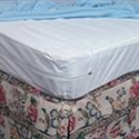 Picture of Mattress Protector For Home Beds Zippered Plastic (Queen Size) aka queen sized mattress cover