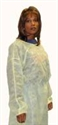 Picture of Pretect® Isolation Gowns (case of 50) aka Disposable Gowns, Clearance