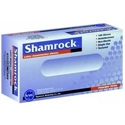 Picture of Shamrock® Latex Gloves Powder-Free (Box of 100) SH10111, SH10112, Shamrock 10113, SH10114, Shamrock Gloves