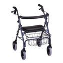 Picture of NOVA Rolling Walker Cruiser Deluxe with Basket aka Rollator, walkers, Waker with Seat, Platform Walker, four wheel walker