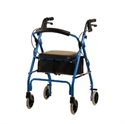 "Picture of Lightweight Rolling Walker GetGo Classic 6"" wheels (Under Seat Pouch Included) aka walkers"