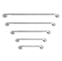 "Picture of Nova Grab Bar 18"" Wall Mount Chrome With Knurled Handle"