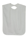 Picture of Patient Protector with Hook & Loop Closure Vinyl Waterproof Backing aka Bib (White)