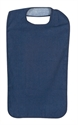 Picture of Clothing Protector with Water Resistant Backing (Navy) aka Reusable Adult Bibs, reusable Patient Protector with water resistant backing, duromed bib 6014