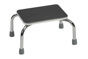 Picture of Foot Stool Heavy Duty Chrome-plated Steel Frame (Assembled)