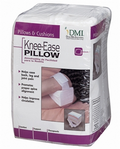 "Picture of Knee-Ease Pillow Hook & Loop Strap 7"" x 4"" x 5"" with Removable Cover (White)"