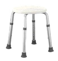 Picture of Nova Adjustable Shower Stool aka Bath Bench, Shower Seat, Bath Safety Items, Shower Chair, Round Stool