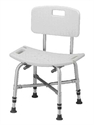Picture of Nova Heavy Duty Bath Bench with Back (up to 500 lbs.) aka Heavy Duty Shower Chair, Bath Seat