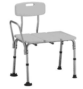 Picture of Nova Economy Transfer Bench with Removable Back aka Shower Chair