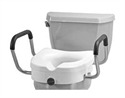 Picture of Nova Raised Toilet Seat with Arms aka Toilet Riser, commode aid, Bathroom Accessories