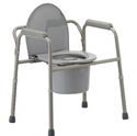 Picture of Nova Bedside Commode (3 in 1 style) aka bed side commode, toilet riser, toilet safety frame, 3 in 1 commode