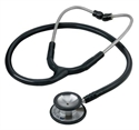 Picture of Signature™ Series Stainless Steel Stethoscope (Black) - CLEARANCE