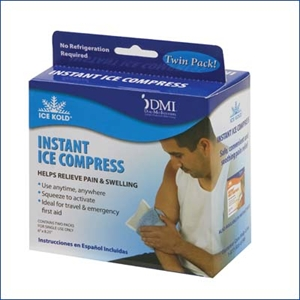 Picture of Ice Kold® Instant Ice Compress aka Instant Ice Pack, Instant Cold Pack (Retail box of 2)