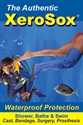 Picture of DRY Pro™ XeroSox® Cast Protector and Bandage Protector with Pro Pump Half-Leg/Below Knee (Large) by Dry Corp