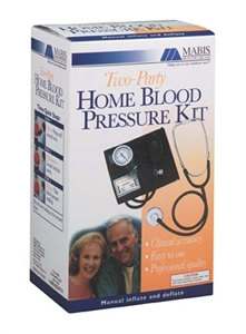 Picture of Two-Party Home Blood Pressure Kit (Adult Cuff) aka Blood Pressure Monitor - CLEARANCE