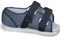 Picture of Post-Op Shoe for Women with Blue Mesh Upper (Large) aka Womens Cast Shoe, Cast Boot, Walking After Foot Surgery, Clearance