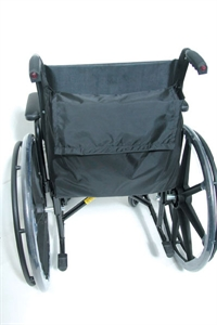 Picture of Wheelchair Backpack with Slip-On Straps (Black Nylon) aka wheelchair accessories