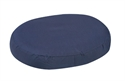 "Picture of Ring Cushion with Removable Navy Cover (18"") Molded Foam aka Donut Cushion, 3"" Seat Cushion, Wheelchair Cushion"