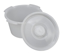 Picture of Commode Replacement Pail with Lid (7 qt.)