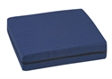 "Picture of Standard Polyfoam Wheelchair Cushion (16""x 18""x 4"")(Navy Cover)"