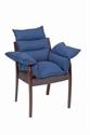 Picture of Comfort Wheelchair Pillow aka Wheelchair Cushion, Seat Cushion, Chair Pad (Navy)