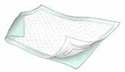 "Picture of Maxicare™ Disposable Underpads Super 30"" x 36"" aka Chux (Pack of 10) (Green)"