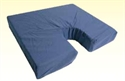 "Picture of Coccyx Foam Seat Cushion 18"" x 16""x 3"" (Navy Cover) aka Wheelchair Cushion, 3"" Seat Cushion, Clearance"