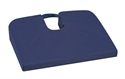 "Picture of Sloping Seat Mate™ Coccyx Cushion (18"" x 14"")(Navy Cover) aka Tailbone Cushion, Travel Cushion, Wheelchair Positioning Cushion, Wedge Cushion"