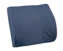"Picture of Lumbar Back Cushion Standard Contoured Foam with Strap (14"" x 13"") DM555-7300-2400, DM555-7300-0200"