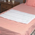 "Picture of Decubitus Bed Pad 24"" x 30"" (White) aka sheepskin bed pad"