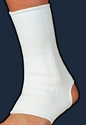 Picture of Elastic Ankle Support (White)(Small to XX-Large) aka XXL Ankle Sleeve, Small Ankle Brace, Ankle Compression