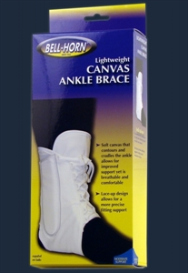 Picture of Lightweight Canvas Ankle Brace (Small - X-Large) aka Ankle Support