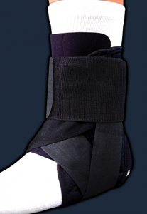 Picture of Stabilized Ankle Brace (Large) aka Large Ankle Brace, Large Ankle Support, Athletic Ankle Support, Mimics Trainers Tape