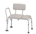 Picture of Nova Padded Transfer Bench with Removable Back, padded tub transfer