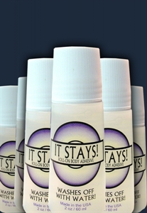 Picture of It Stays! Roll-On Body Adhesive (2oz Bottle) aka Bell Horn Stocking Adhesive