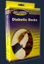 Picture of Seamfree Diabetic Socks (White) aka Bell Horn Socks, Bell Horn Stockings, Diabetes