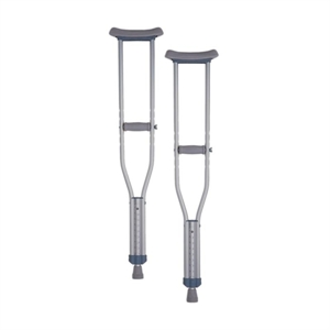 Picture of Aluminum Crutches aka NO7200 Tall Crutches, NO7201 Adult Crutches, NO7202 Youth Crutches