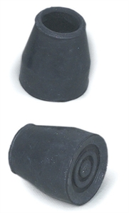 "Picture of Universal 7/8"" Replacement Tips #19 with Metal Insert (1 Pair) (Black)"
