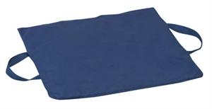 "Picture of Gel/Foam Flotation Cushion (16"" x 18"" x 2"")(Navy) aka Seat Cushion, Wheelchair Cushion, Gel Cushion, Foam Wheelchair Cushion"