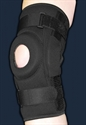 Picture of ProStyle® Hinged Patella Knee Wrap with Donut Buttress (L/XL) aka Large Knee Brace, ACL Brace, Clearance