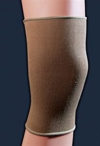 Picture of Elastic Knee Sleeve (Beige)(Small - 3X-Large) aka Knee Support, Knee Brace