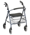"Picture of Mack Rolling Walker User Height 5'5""-6'2"", Weight Cap. 400lbs aka rollator, walkers, Bariatric Walker"
