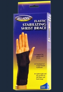 Picture of Elastic Stabilizing Wrist Brace (Left)(Small) aka Left Hand Wrist Wrap