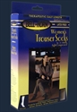 Picture of Women's Trouser Socks 15-20 mmHg (Navy - Large) aka Compression Stockings, Diamonde Socks - PRICE REDUCED