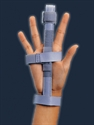 Picture of Finger Splint aka Thumb Splint (Small to Large) BH87123, BH87125, BH87127, Finger Splint 87125, Finger Brace, Thumb Brace
