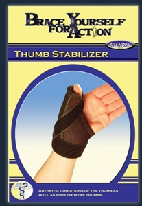 Picture of Brace Yourself for Action Universal Thumb Stabilizer aka Universal Thumb Splint, Universal Arthritis Splint, Trigger Thumb Brace