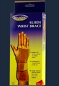 Picture of Suede Wrist Brace (Right/Small) aka Wrist Splint, Carpal Tunnel Syndrome, Clearance